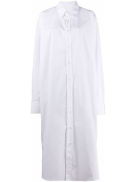Платье макси на пуговицах оверсайз Maison Margiela