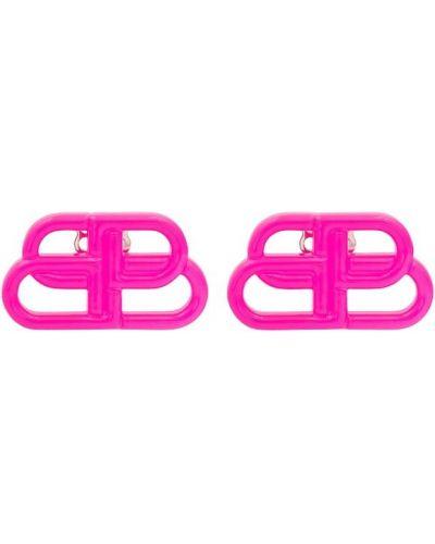 Серьги - розовые Balenciaga