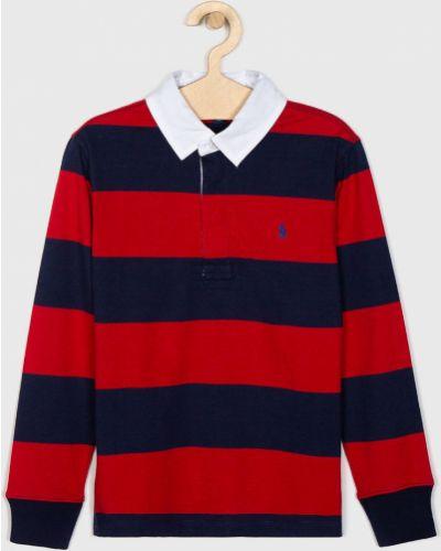 T-shirt czerwony Polo Ralph Lauren