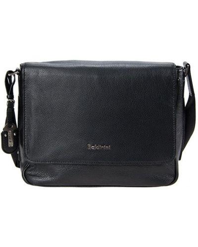 Кожаная сумка черная Baldinini