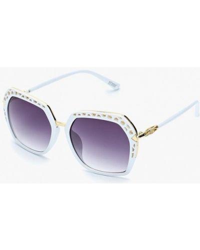 Белые солнцезащитные очки Keddo