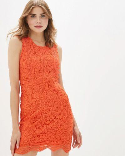 Платье прямое красный By Swan