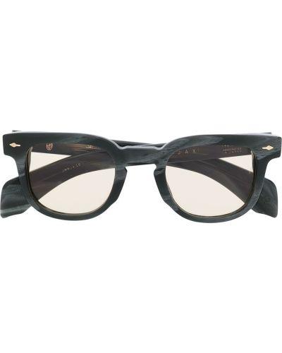 Серые солнцезащитные очки круглые Jacques Marie Mage