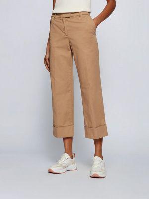 Бежевые повседневные брюки Boss
