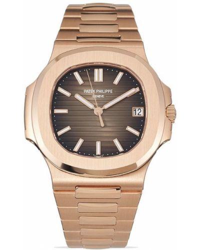 Коричневые часы Patek Philippe