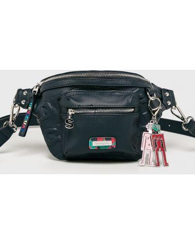 Кожаный сумка поясная маленькая Desigual