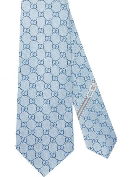 Krawat jedwab włoski Gucci