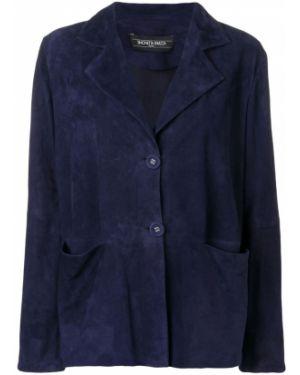 Синий пиджак Simonetta Ravizza