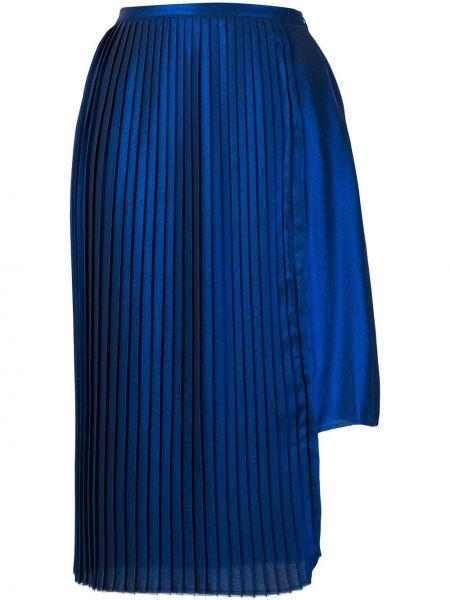 Niebieska spódnica asymetryczna Each X Other