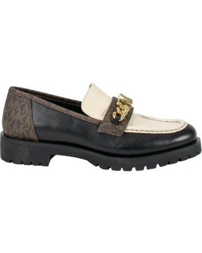 Loafers - czarne Michael Kors