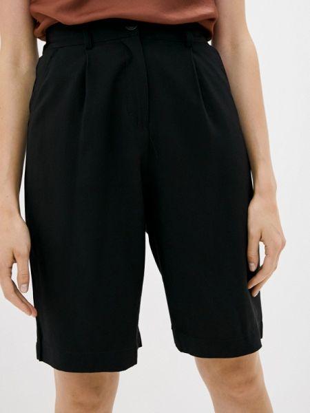 Повседневные черные шорты B.style