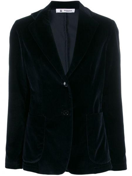 Куртка на пуговицах велюровая Barena