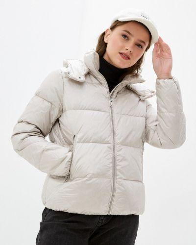 Бежевая куртка утепленная Ostin