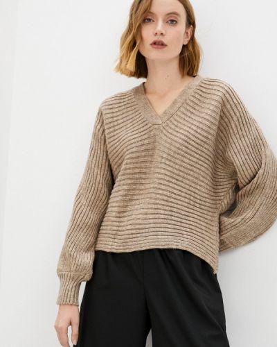 Пуловер - коричневый Leotex