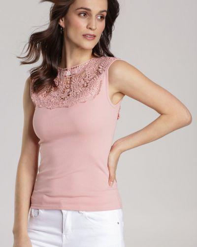 Różowa bluzka dzianinowa Renee