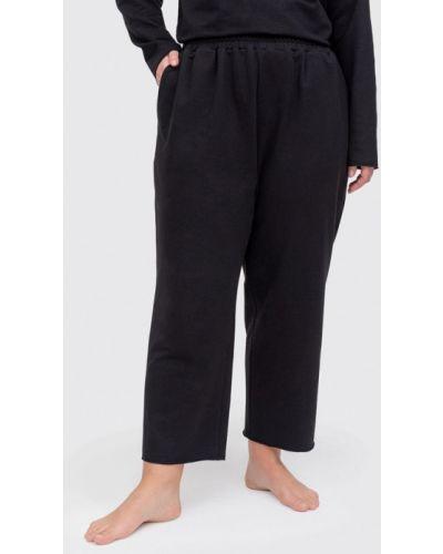 Домашние черные брюки Lessismore
