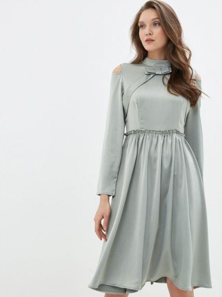 Зеленое вечернее платье Cavo