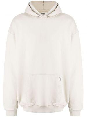 Biała bluza z kapturem Represent