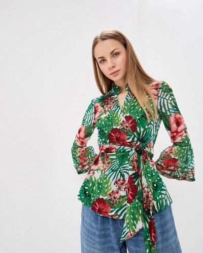 Блузка - зеленая Almatrichi