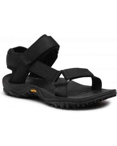 Czarny sandały Merrell