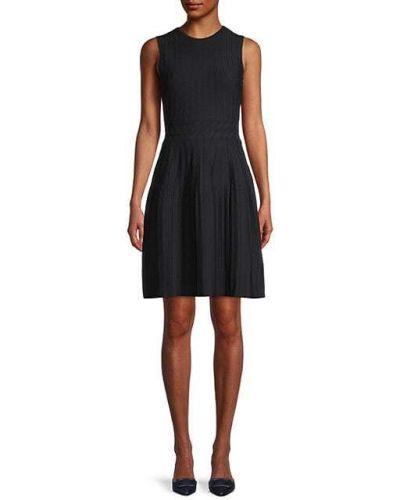 Свободное черное платье без рукавов Ted Baker London