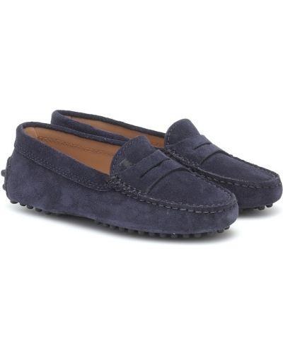 Skórzany loafers Tod's Junior