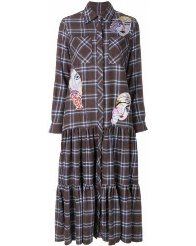 Платье платье-рубашка в клетку KatЯ DobrЯkova