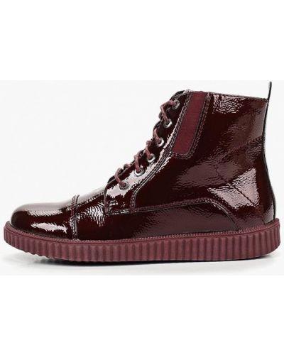 Ботинки лаковые бордовый T.taccardi