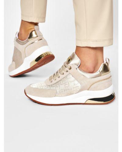 Beżowy sneakersy Liu Jo