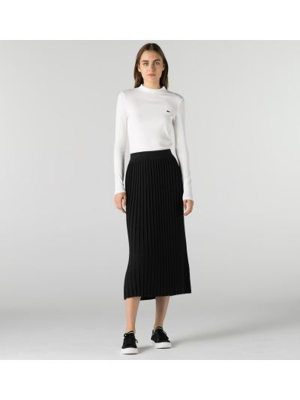 Шерстяная юбка Lacoste