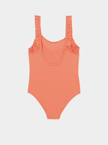 Пляжный слитный купальник - розовый Billieblush