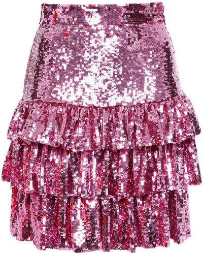 Spódniczka mini - różowa Msgm