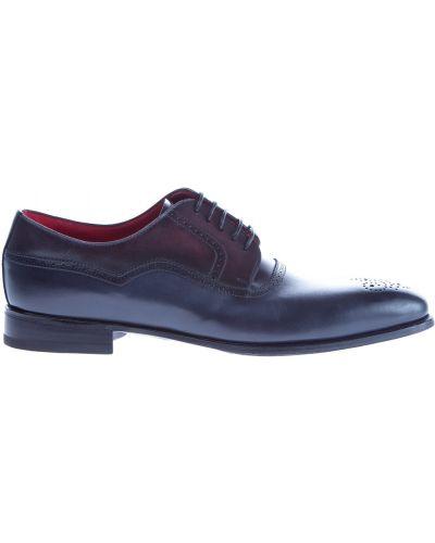 Туфли итальянские с узором Barrett