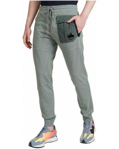 Zielone joggery C.p. Company