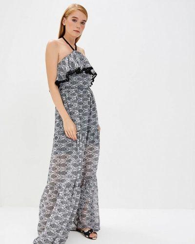 Платье серое весеннее Gepur