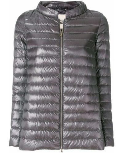 Стеганая куртка длинная укороченная Herno