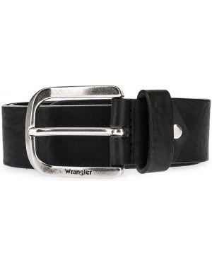 Ремень широкий кожаный Wrangler