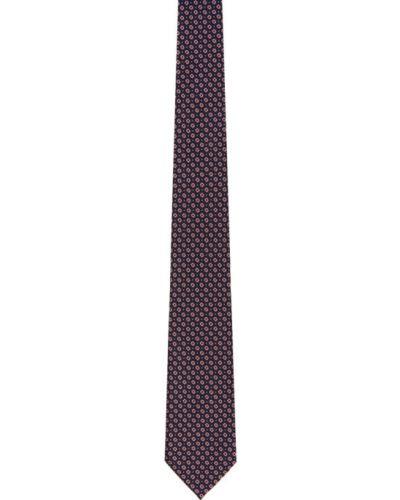 Jedwab różowy krawat Ermenegildo Zegna