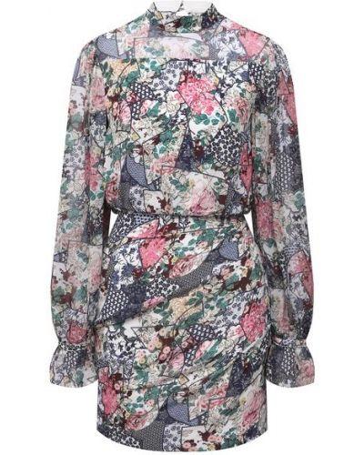 Шелковое платье с подкладкой Saloni