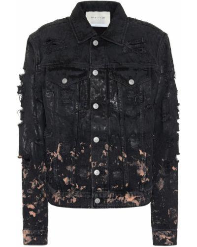 Черная джинсовая куртка с опушкой 1017 Alyx 9sm