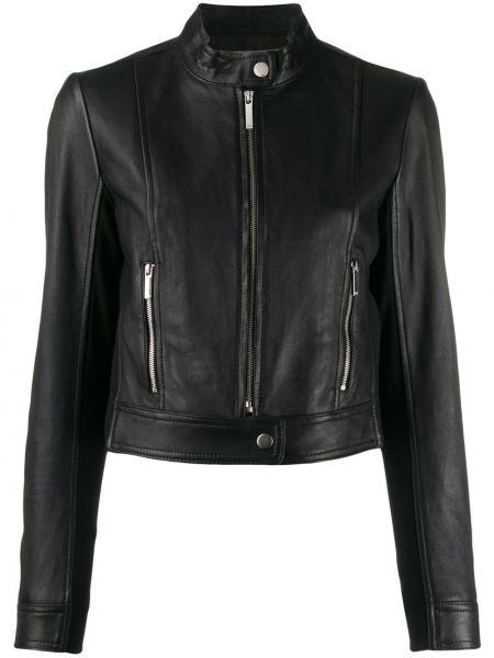 Куртка черная на молнии Michael Michael Kors