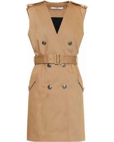 Beżowy bawełna bawełna sukienka Givenchy