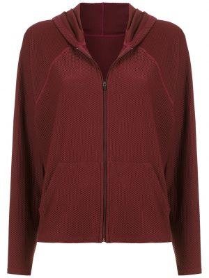 Красная спортивная куртка с капюшоном на молнии Track & Field