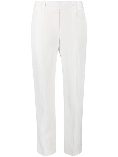 Со стрелками прямые белые брюки Ermanno Scervino