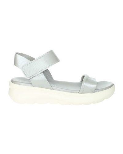 Sandały srebrne Fornarina