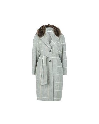 Пальто серое пальто Peserico