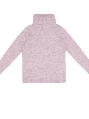 Fioletowy sweter wełniany Morley