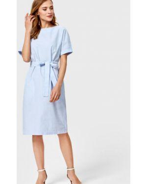 Платье мини в полоску через плечо Ostin