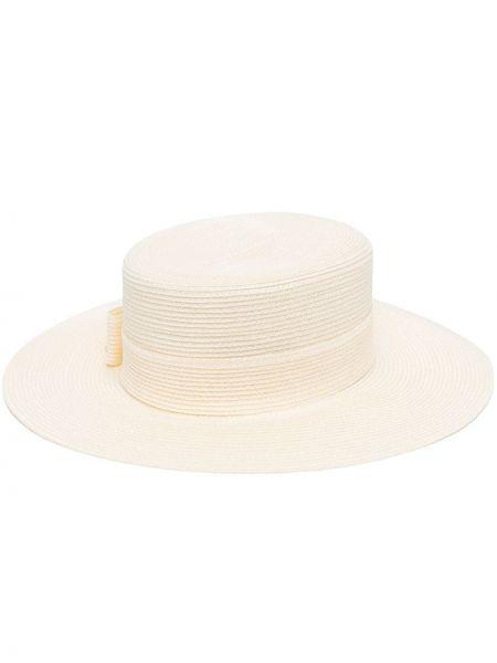 Biały bawełna bezpłatne cięcie bawełna kapelusz Gucci