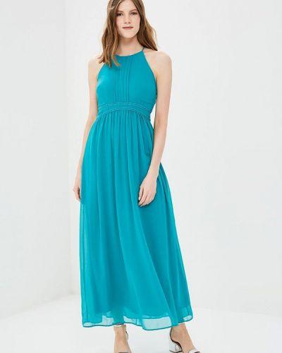 Бирюзовое платье Naf Naf